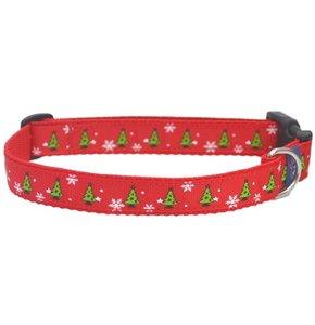 Rood kerstboom Kerst Halsband 20mm