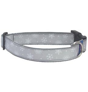 Sneeuwvlok zilver Kerst Halsband 25mm