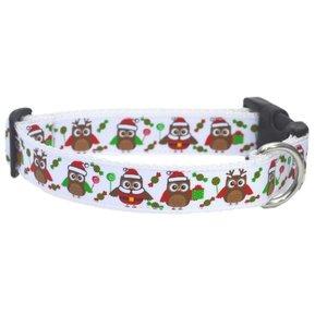 Uiltjes Snoep Kerst Halsband 25mm
