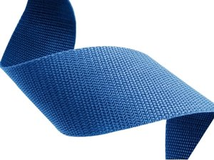 Blauw polypropyleen (PP) band 50m