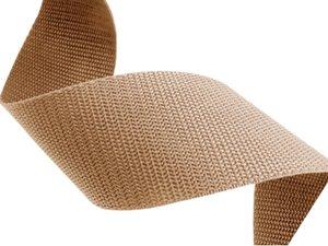 Beige polypropyleen (PP) band 10m