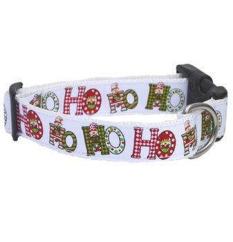 HOHOHO Elf Christmas Dog collar 25mm