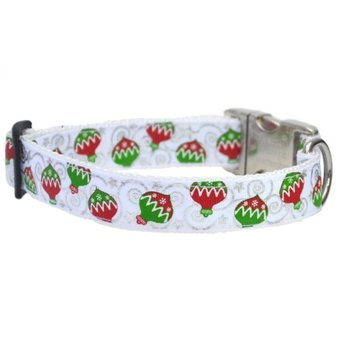 Ornament Christmas Dog collar 25mm