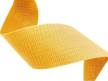50m Soft yellow polypropylene (PP) webbing