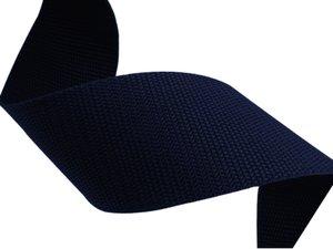 Donkerblauw polypropyleen (PP) band 10m