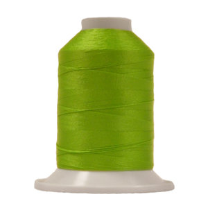 Lime green polyester sewing thread 1000m