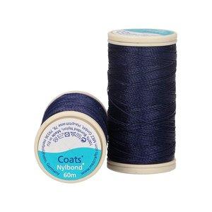 Nylbond - Donkerblauw extra sterk, elastisch naaigaren kleur 9068