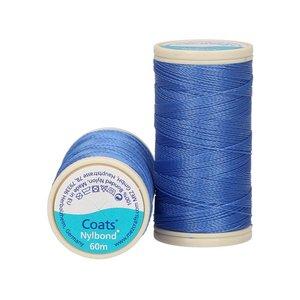 Nylbond - Blauw extra sterk, elastisch naaigaren kleur 4627