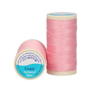 Nylbond - Pink extra strong elastic Thread colour 2637