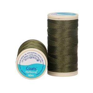 Nylbond - Olijfgroen extra sterk, elastisch naaigaren kleur 8055