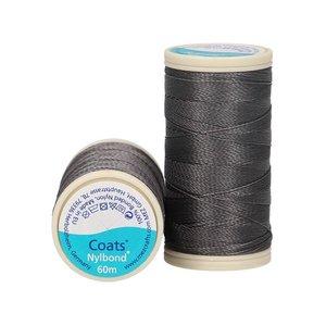 Nylbond - Antraciet extra sterk, elastisch naaigaren kleur 5005