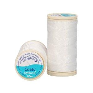 Nylbond - Wit extra sterk, elastisch naaigaren kleur 2000