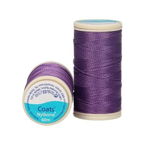Nylbond - Paars extra sterk, elastisch naaigaren kleur 4542