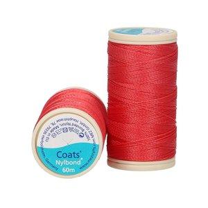 Nylbond - Rood extra sterk, elastisch naaigaren kleur 8778