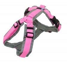 Size L - AnnyX Y-harness FUN Pink/Grey