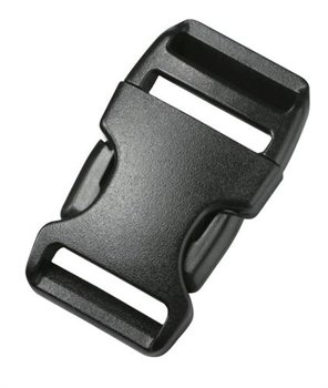 Gebogen Klikgesp 30mm - Duraflex