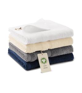Medium - Biologisch katoen Handdoek met Naam - 50x100 cm