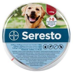 Teken- en vlooienband Seresto - grote hond (nek tot 70cm)
