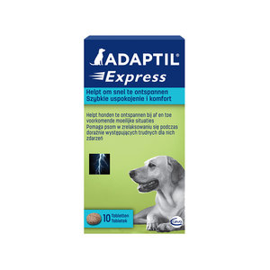 Anti-stress Tabletten Adaptil - Kalmerend en Rustgevend - 10 stuks