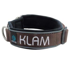Neopreen Halsband met Naam - M | My K9