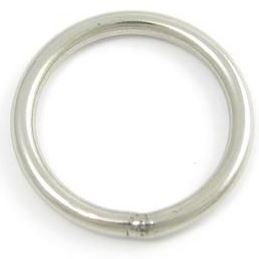 RVS ring 25mm, roestvrijstaal