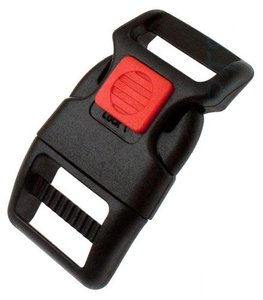 Side-release safety buckle 20mm, nylon
