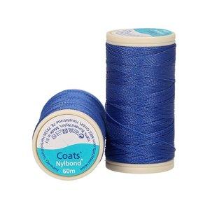 Nylbond - Koningsblauw extra sterk, elastisch naaigaren kleur 8132