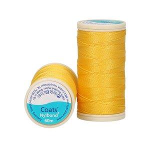 Nylbond - Geel extra sterk, elastisch naaigaren kleur 6349